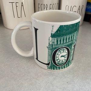 Starbucks 2002 City Mug Collector Series London